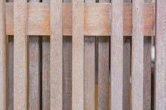 Деревянный частокол, коричневый Стоковое Изображение