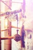 Деревянный шарик Стоковые Фото