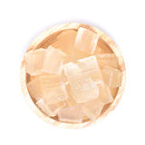 Деревянный шар вполне свеже выбранного завода vera алоэ, слезанный и Стоковое Фото