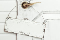 Деревянный шильдик с смертной казнью через повешение веревочки Стоковое Фото