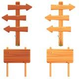 Деревянный шильдик Стоковые Изображения RF
