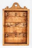 Деревянный шкаф Стоковые Изображения