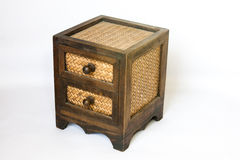 Деревянный шкаф стоковое фото rf