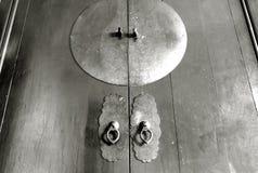 Деревянный шкаф Стоковое Изображение