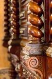 Деревянный шкаф Стоковые Фотографии RF