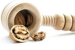 Деревянный Щелкунчик Стоковое Изображение RF