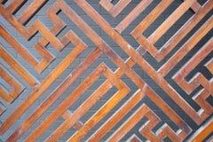 Деревянный экран Стоковые Фотографии RF