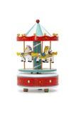 Деревянный Carousel игрушки Стоковое Изображение RF