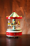 Деревянный Carousel игрушки Стоковые Фотографии RF