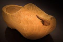 Деревянный clog Стоковые Изображения RF