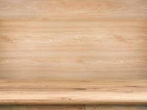 Деревянный countertop Стоковое фото RF