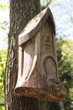 Деревянный Fairy дом Стоковые Изображения