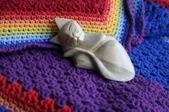 Уют теплое одеяло Стоковые Фотографии RF