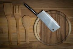 Деревянный Kitchenware Стоковые Изображения