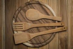 Деревянный Kitchenware Стоковая Фотография RF