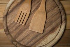 Деревянный Kitchenware Стоковое Фото