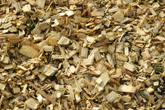 Деревянный mulch стоковое изображение rf