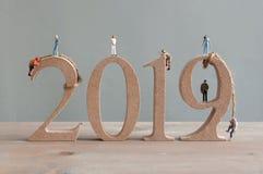 2019 деревянных блоков стоковые фотографии rf