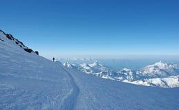 держатели альпиниста сиротливые сверх Стоковая Фотография