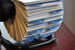 держатель генералитета визитной карточки Стоковые Фотографии RF