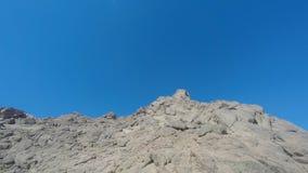 Держатель Моисей гора в Синайском полуострове, Стоковое Изображение