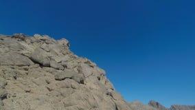 Держатель Моисей гора в Синайском полуострове, Стоковое Изображение RF