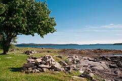 держатель необитаемого острова стоковая фотография