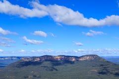 Держатель солитарный в голубых горах, Новый Уэльс, Австралия стоковые фотографии rf