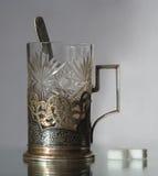 держатель чашки старый Стоковое фото RF