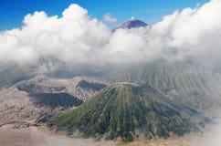 Держатель Bromo восточное Java Индонесия Стоковое Изображение