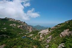 держатель huangshan стоковое фото rf