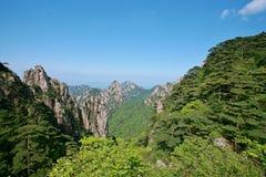 держатель huangshan стоковые фотографии rf