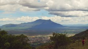 Держатель Longido, Танзания Стоковые Изображения