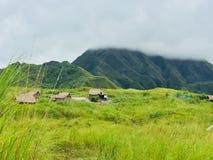 Держатель Pinatubo деревни Стоковые Фотографии RF