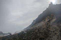 Держатель Sibayak, северная Суматра, Индонезия стоковые изображения rf