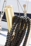 Держатели и веревочка штанги Стоковая Фотография RF