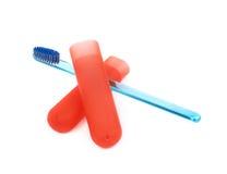 Держатель зубной щетки и коробки случая Стоковые Изображения RF
