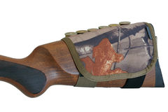 Держатель патрона Buttstock винтовки, конец вверх Стоковые Фото