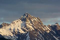 Держатель Торки показывает классическую форму горы Стоковые Изображения