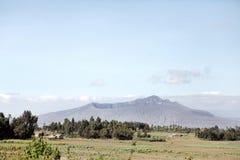 Держатель Longonot, вулкан Стоковое Изображение RF