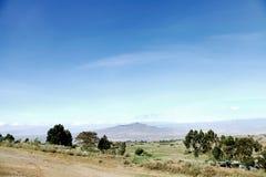 Держатель Longonot в Great Rift Valley Кении Стоковая Фотография RF