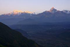 Держатель Machhapuchhre, Непал Стоковая Фотография