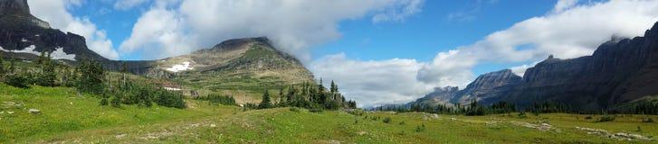 Держатель Oberlin, национальный парк ледника Стоковое Изображение RF