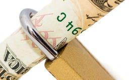 Держать доллар Стоковые Фото