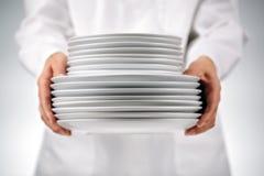 Держать плиты Стоковое фото RF