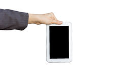 Держать цифровой ПК таблетки Стоковое Изображение RF