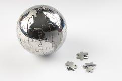 держите планету безопасным Стоковое Изображение RF