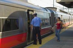 держите поезд Стоковое Изображение RF