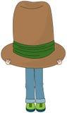 Держите под one шляпой Стоковые Изображения