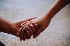 Держите руку Стоковая Фотография RF